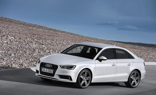 The Audi A3 Saloon.