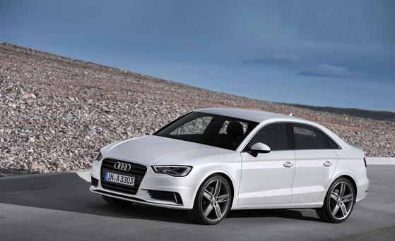 For empty nesters: The Audi A3 Saloon.