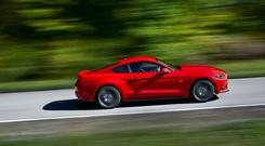 The new Ford Mustang