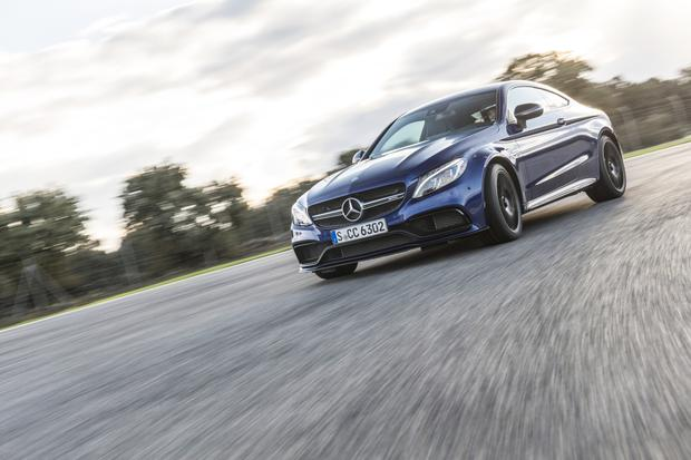 Beast: The Mercedes C-Class Coupe AMG C63 S