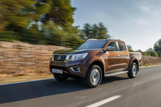 Versatile: The Nissan Navara.
