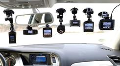 Keeping watch: A digital CarCam was provided by the RAC
