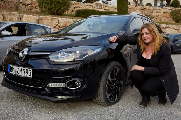 Get a grip: Suzanne Keane tests new DriveGuard tyres