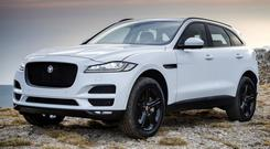All-new Jaguar F-Pace is a veritable mix of XE, XF and F-Type combining sheer luxury with wall-to-wall leather and piano black and chrome inserts
