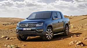 Overhaul: The new Volkswagen Amarok pick-up has been given an upgrade.
