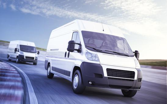 Commercial vehicle sales are on the up.