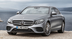 PERFECT 10: The new Mercedes Benz E-Class is super elegant both inside and out