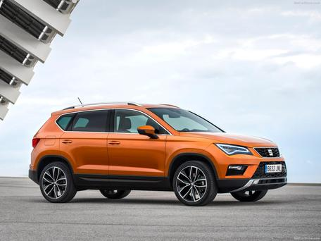 DEBUT SEASON: The Seat Ateca has the look of a Leon