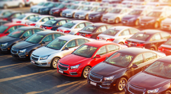 The number of new car registrations passed the 100,000 mark between January and June.