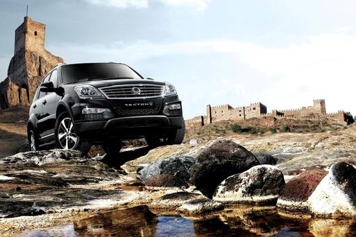 The SsangYong Rexton.