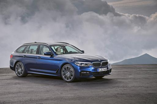 Revealed: BMW's 5-series Touring