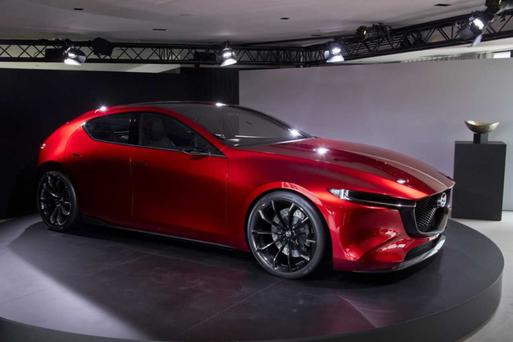 NEW MODEL: The Kai concept car inspires the new Mazda 3