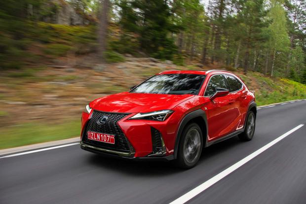 The Ux Baby Lexus Hybrid Crossover Due Here In March Independent Ie