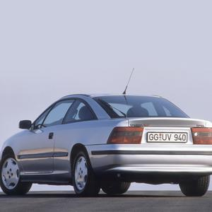 SLEEK: The Calibra's styling was one of its greatest strengths