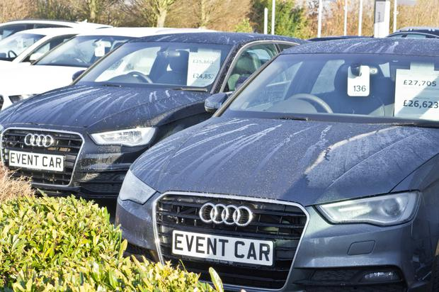 PRICE POINT: Irish buyers are flocking to the UK for better value on used cars