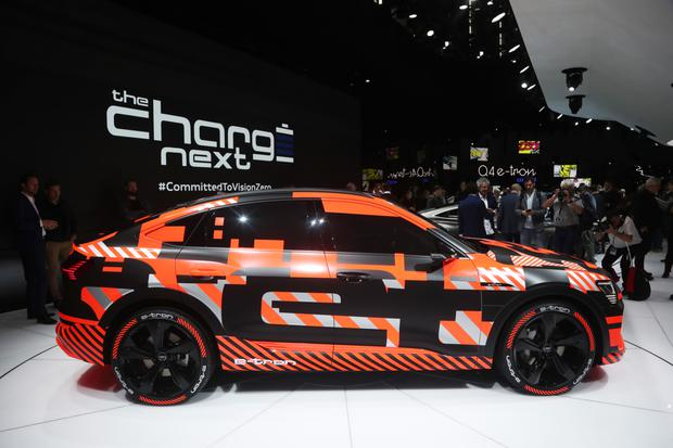 FULLY CHARGED: Audi's e-tron GT is part of the manufacturer's new all-electrified line-up