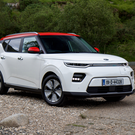 ELECTRIC AGE: The Kia Soul has style