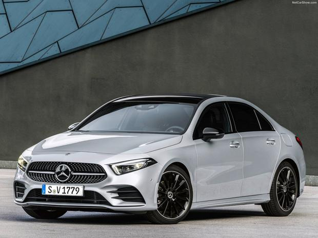 LOW-SLUNG QUALITY: The Mercedes-Benz AI80d is a premium small family saloon