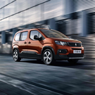 Family friendly: The Peugeot Rifter is a practical choice