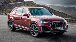 The Audi Q7 (in Matador Red) on the Ring of Kerry