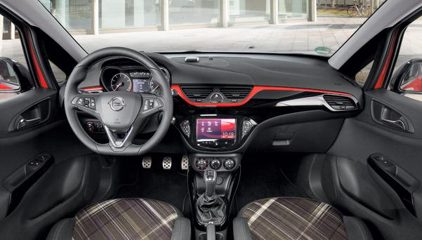 Keeping you connected: the Opel Corsa interior
