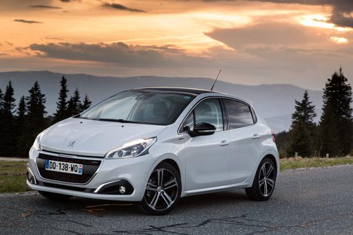 The new Peugeot 208
