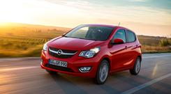 The new 1.0 litre Opel Karl is ideal for city driving
