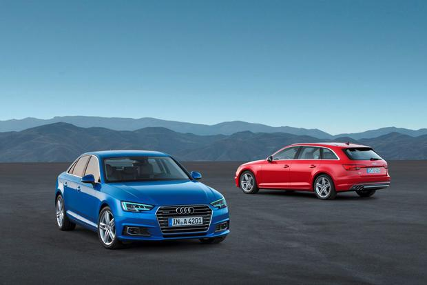 The new Audi A4 - the brand came out on top as the one people want to own