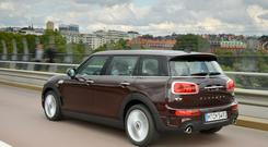 Conventional: The characteristic split rear doors are retained but the Clubman now comes with four side doors and lots more room, so you can bring your kids and the luggage