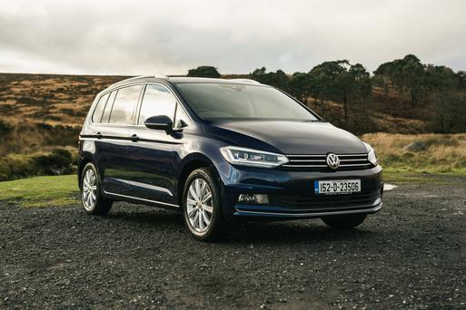 Family orientated: The new Volkswagen Touran has five Isofix anchor points