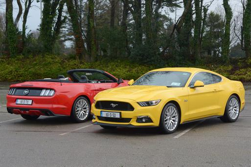 An emotional not a practical decision: The Ford Mustang arrives in Ireland. Photo: John Sheehan Photography
