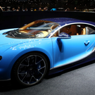 Dazzling: The Bugatti Chiron Photo: Jakob Ebrey