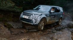 OFF-ROAD STAR: The fifth generation Land Rover Discovery