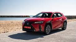 BOLD STATEMENT: The new Lexus UX