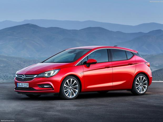 Compact: The new Opel Astra is almost five centimetres shorter than its predecessor yet bigger on the inside