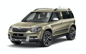 The new Skoda Yeti Sherpa.