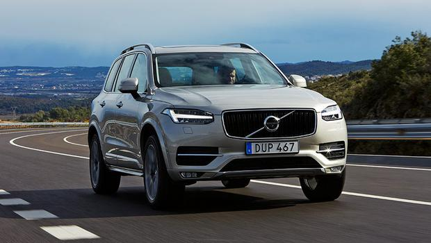 Volvo XC90 has the Sensus infotainment system