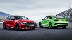 Audi's performance RS3 hatch and saloon