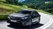 Major lift: The new Toyota Avensis