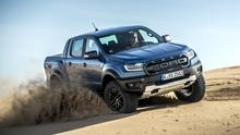 Next level: The new Raptor version of the Ford Ranger pickup