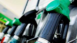 From midnight tonight, the €6-per-tonne increase will raise the cost of petrol and diesel by around 2c per litre. Stock Image