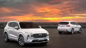 The revised sharp and stylish Hyundai Santa Fe is a plush family car with versatility –and is the best in its class