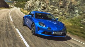 Testingthe water: Renault is assessing the potential Irish appetite for its Alpine A110 sports coupé