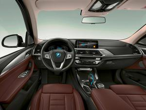 The interior of the BMW iX3