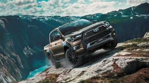 Off-road ability: The versatile Hilux, set up as it is to tackle tough terrain, is popular among tradespeople and even families