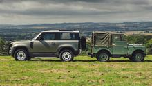 Changing times, changing shapes: The new and old Land Rover Defender models