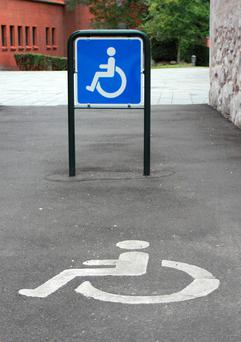 Think twice before you park in a disabled space.