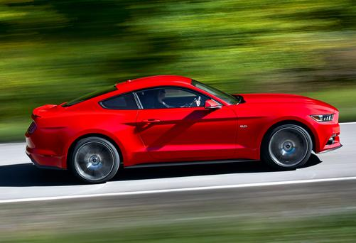 Ford Mustang - the first ever to go on sale in Europe in almost 50 years of production