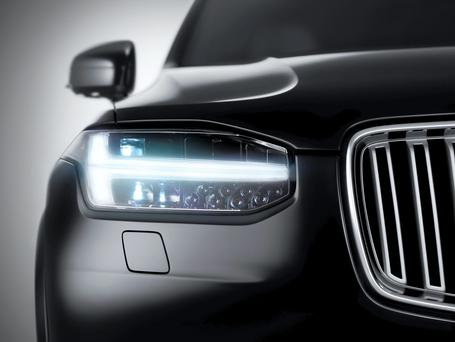 Volvo's new 2-litre 4cyl Drive-E engine develops 444bhp or an extraordinary 222bhp per litre
