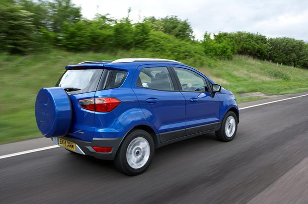 Ford's Ecosport crossover.